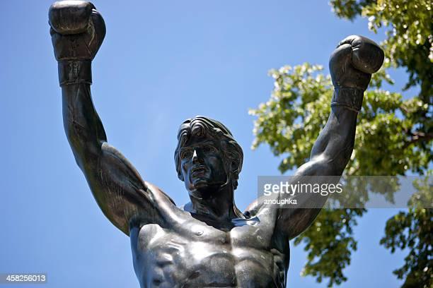 Rocky Balboas Statue in Philadelphia