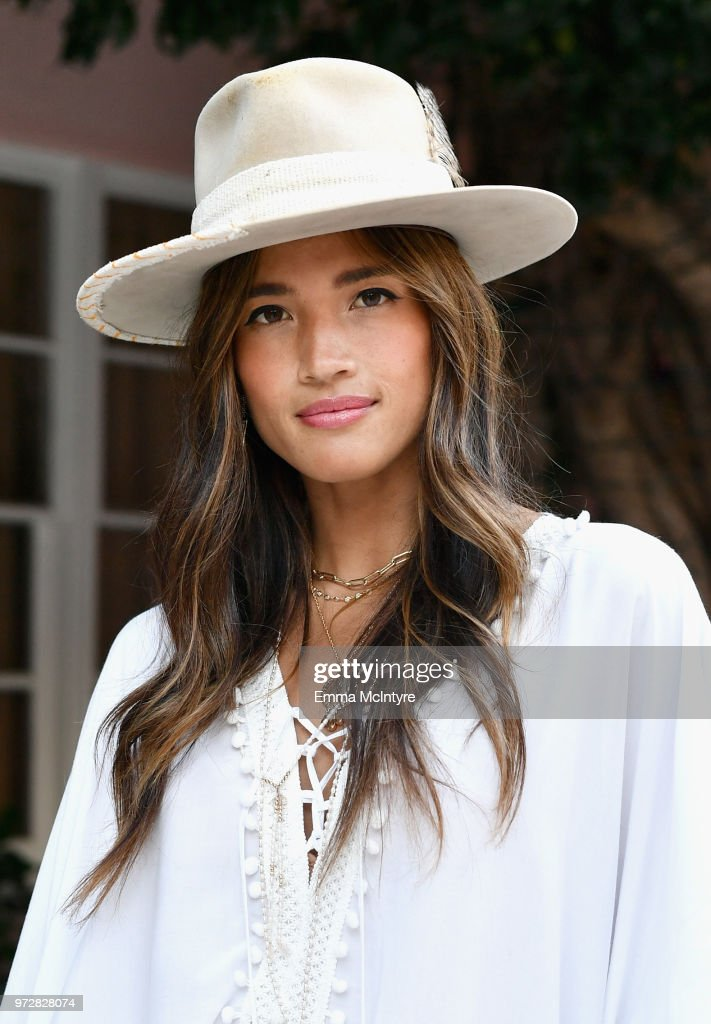Rocky Barnes attends Summer '18 Box of Style by Rachel Zoe Soiree at Hotel Bel Air on June 12, 2018 in Los Angeles, California.