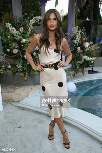 Rocky Barnes attends Victoria's Secret Hosts a Summer Soiree with Angel Martha Hunt on May 24 2018 in Santa Monica California