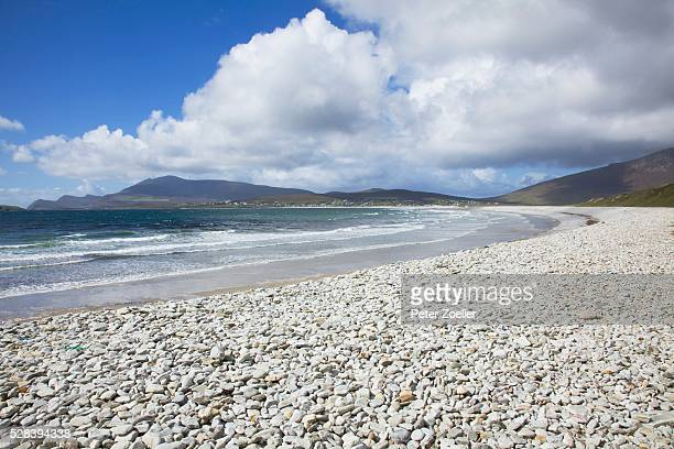 Rocky Beach Shoreline; Keel Beach, Achill Island, County Mayo, Ireland