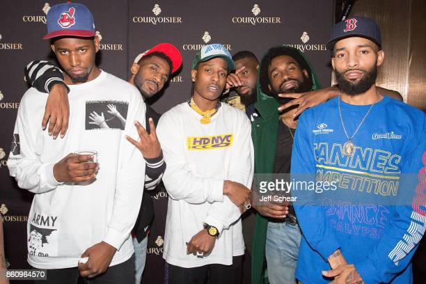 Rocky celebrates the second leg of the A$AP Mob Tour at the official afterparty hosted by Courvoisier Cognac on October 2017 in Chicago Illinois A$AP...