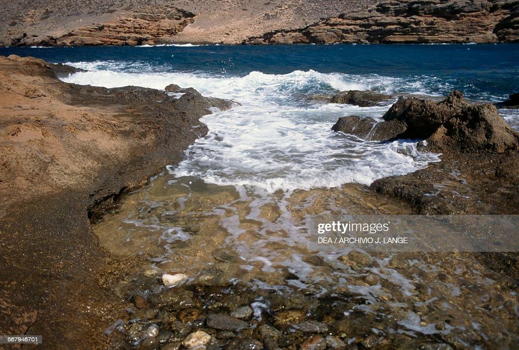 Kreta, Itanos Beach (Textil- und FKK-Strand) | Mapio.net