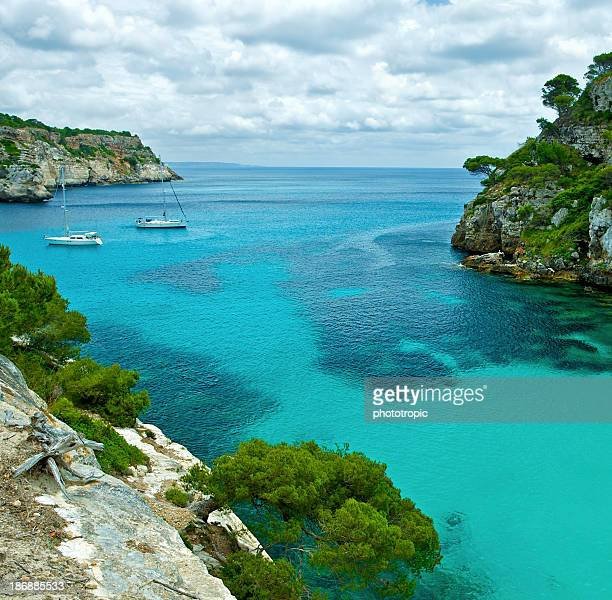 rocky cove in Minorca