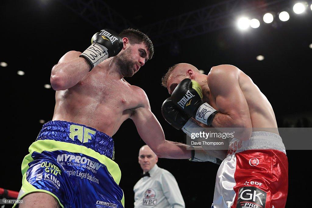 Boxing at Echo Arena Liverpool : News Photo