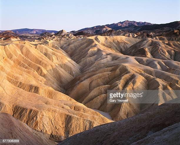 Rocky formations at Zabriskie Point,Death Valley
