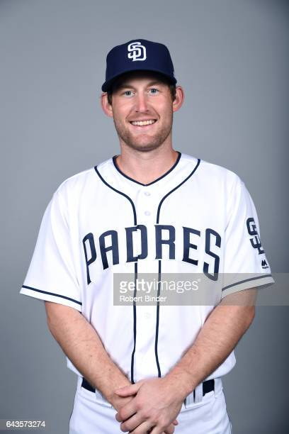 Rocky Gale of the San Diego Padres poses during Photo Day on Sunday February 19 2017 at Peoria Stadium in Peoria Arizona