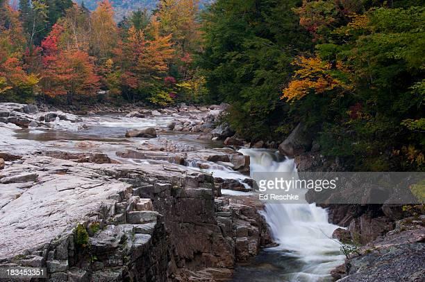rocky gorge scenic area, new hampshire - río swift fotografías e imágenes de stock