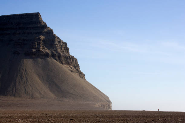 A rocky headland in the Canadian arctic
