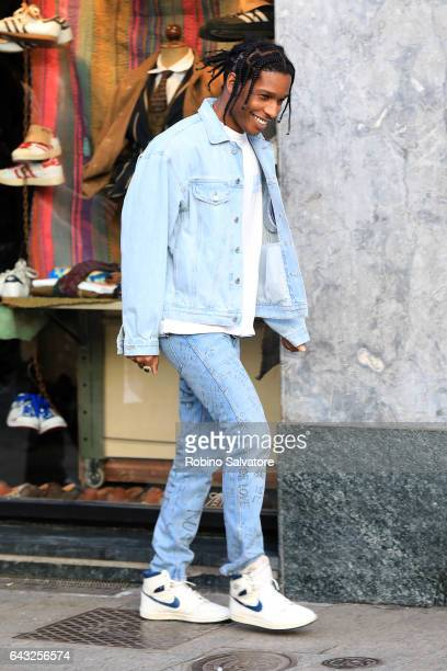 Rocky is seen on February 20 2017 in Milan Italy