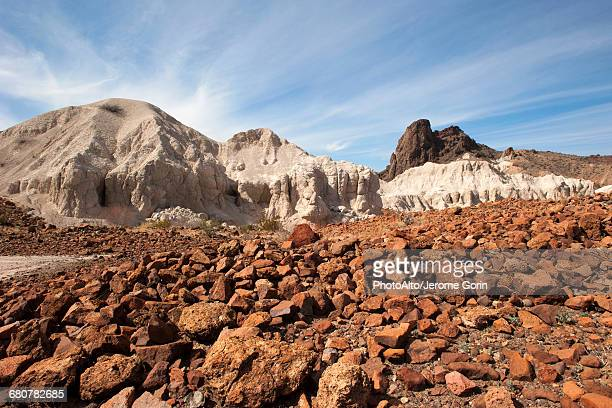 rocky landscape in big bend national park, texas, usa - chihuahua desert stock pictures, royalty-free photos & images