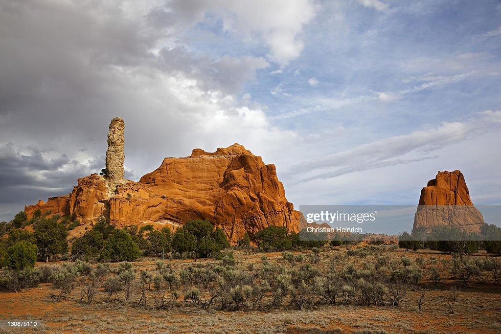 Rocky landscape in Kodachrome Basin State Park, Utah, America, United States : Stock Photo