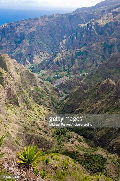 Rocky landscape on the island of San Antao, Cape Verde Islands, Africa
