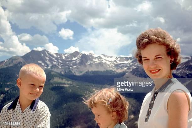 Rocky Mountain family vacation 1960