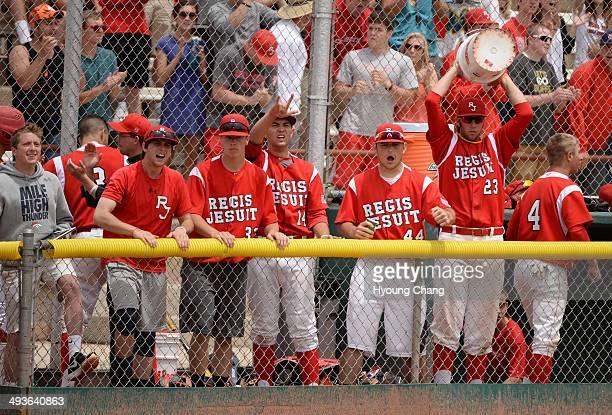 Rocky Mountain High School Regis Jesuit High School at All City Stadium Denver Colorado May 24 2014 Rocky Mountain High School won the 5A state...