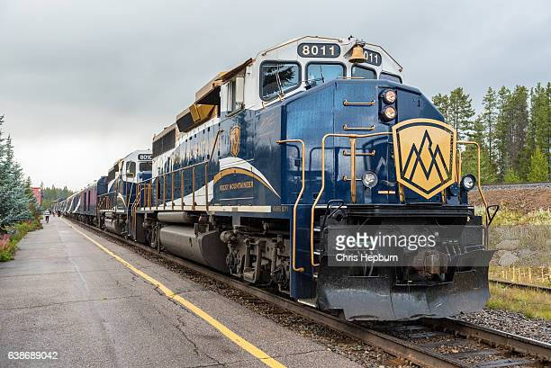 Rocky Mountaineer Train, Lake Louise Station, Canada