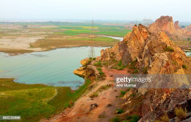 Rocky Mountains And River Chenab
