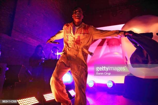 Rocky performs a secret show at Village Underground on May 28 2018 in London England