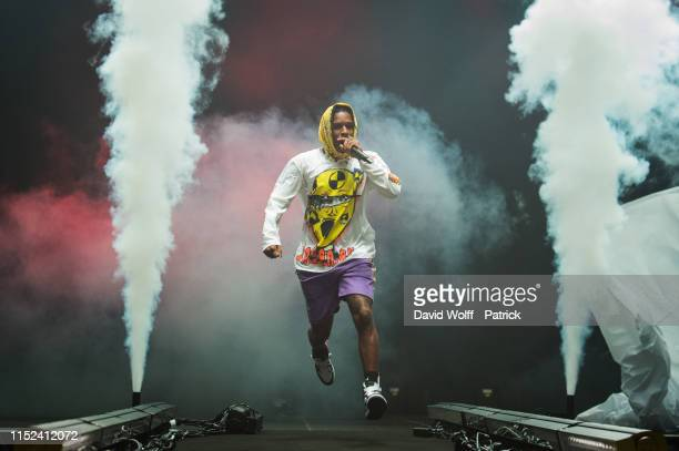 Rocky performs at Le Zenith on June 27 2019 in Paris France