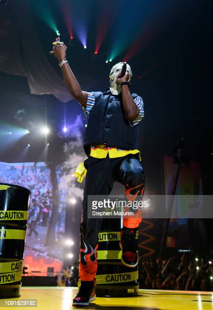 Rocky performs at The Armory on January 08 2019 in Minneapolis Minnesota