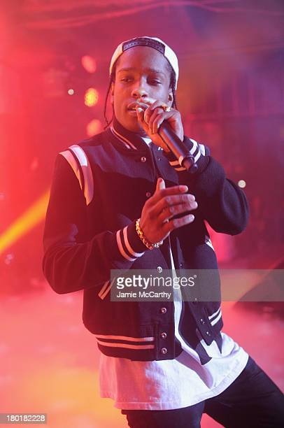 Rocky performs at the #DKNY25 Birthday Bash on September 9 2013 in New York City