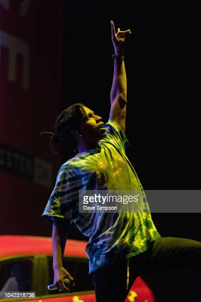 Rocky performs during Listen In at Spark Arena on September 28 2018 in Auckland New Zealand