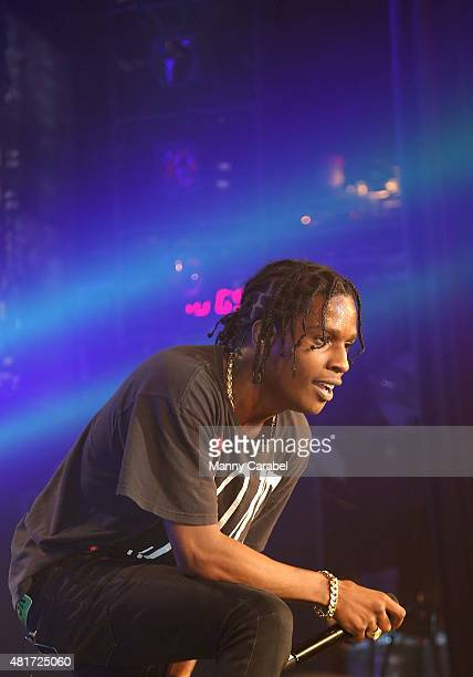 Rocky performs during PeterPalooza IV at Best Buy Theater on July 23 2015 in New York City