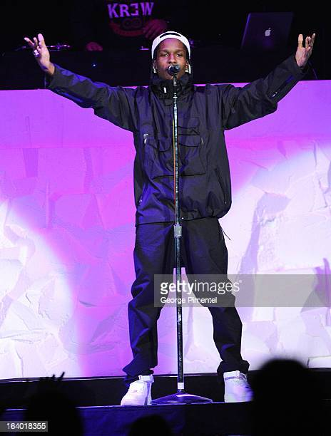 Rocky performs in concert at Air Canada Centre on March 18 2013 in Toronto Canada