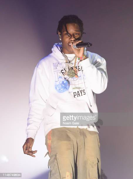 Rocky performs in concert at Park Avenue Armory on May 12 2019 in New York City