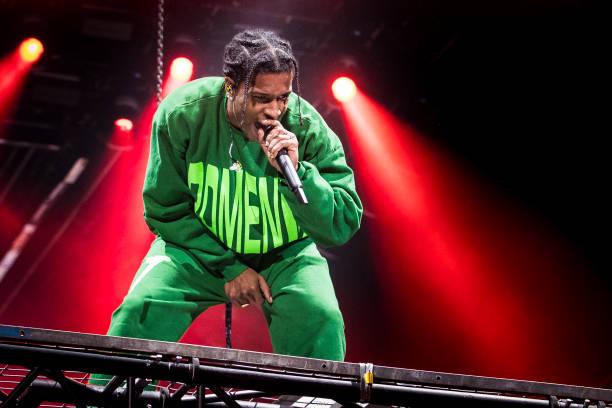 SWE: ASAP Rocky Concert In Sweden