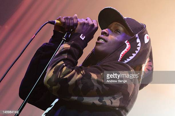 Rocky performs on stage at The Ritz, Manchester on June 8, 2012 in Manchester, United Kingdom.