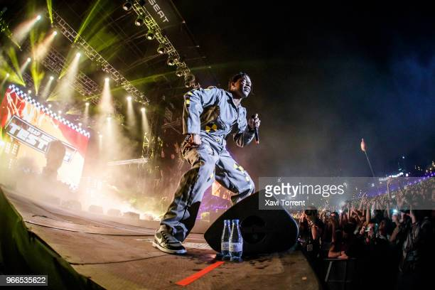 Rocky performs on stage during day 4 of the Primavera Sound Festival on June 2 2018 in Barcelona Spain