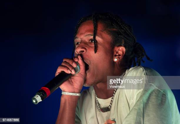 Rocky performs on the Valley stage on day one of the Parklife Festival at Heaton Park on June 9 2018 in Manchester England