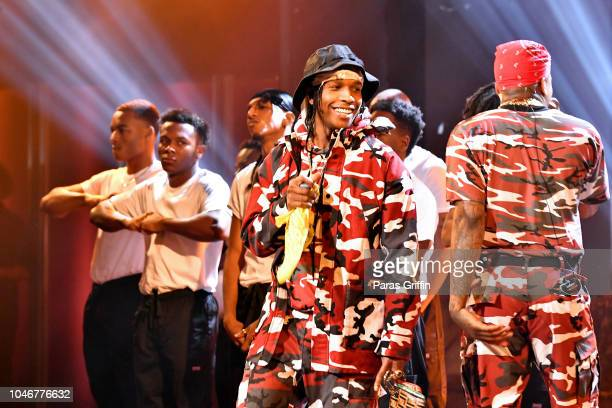 Rocky performs onstage during the BET Hip Hop Awards 2018 at Fillmore Miami Beach on October 6 2018 in Miami Beach Florida