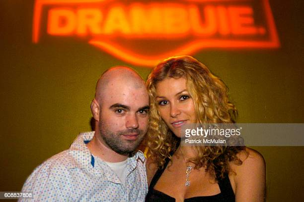 Rocky Rakovic and Heather Vandeven attend Drambuie Den Event with Special Guest Heather Vandeven at Level V on October 22 2007 in New York