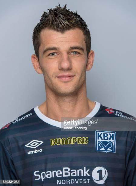 Rocky Rexhep Lekaj of Team Kristiansund BK on March 7 2017 in Kristiansund Norway