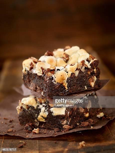 Rocky Road bizcochos de chocolate