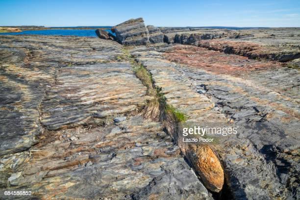 Rocky shore at Blue Rocks