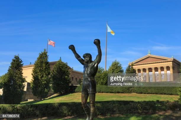 Rocky Statue Philadelphia Museum of Art Philadelphia Pennsylvania