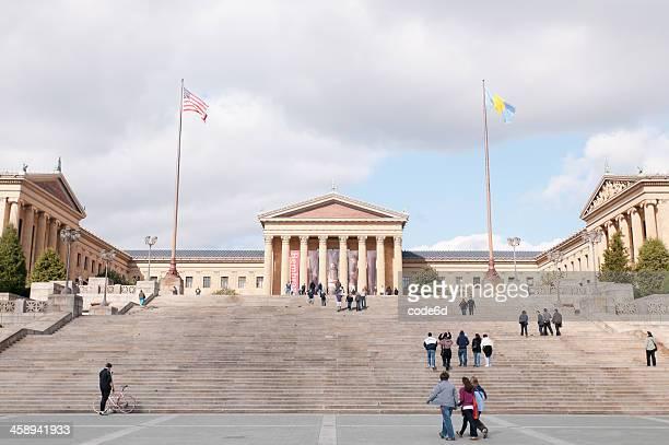 Rocky-Treppe im Philadelphia Museum of Art