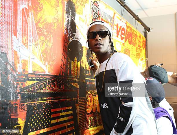 Rocky visits the Vevo Recording Studio during HOT 97 Summer Jam XX at MetLife Stadium on June 2 2013 in East Rutherford New Jersey