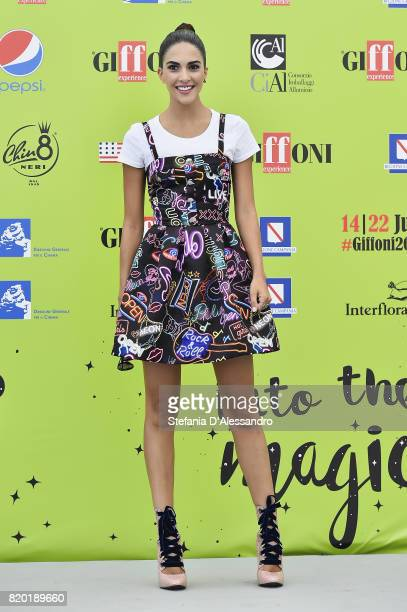 Roco Muoz Morales attends Giffoni Film Festival 2017 Day 8 Photocall on July 21, 2017 in Giffoni Valle Piana, Italy.