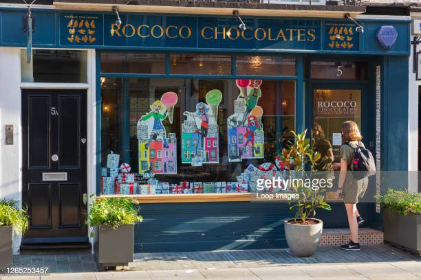 Rococo Chocolates on Motcomb Street in Belgravia is a luxury artisan chocolatier