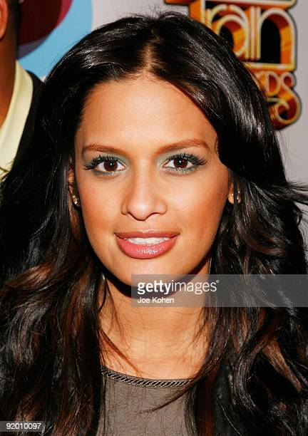 Rocsi attends the 2009 Soul Train Awards PreParty at La Pomme on October 19 2009 in New York City