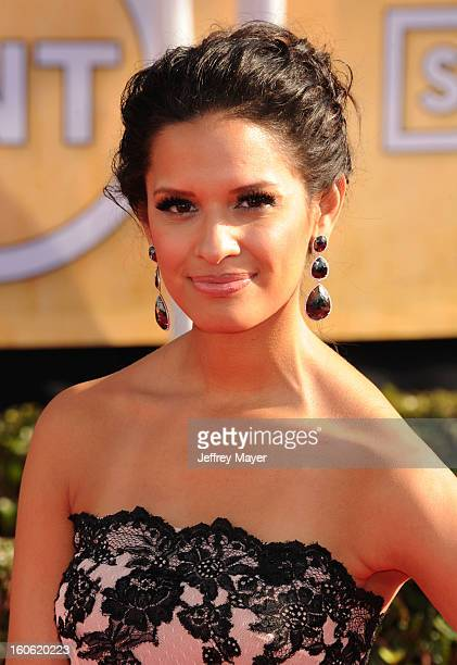 Rocsi Diaz arrives at the 19th Annual Screen Actors Guild Awards at the Shrine Auditorium on January 27 2013 in Los Angeles California