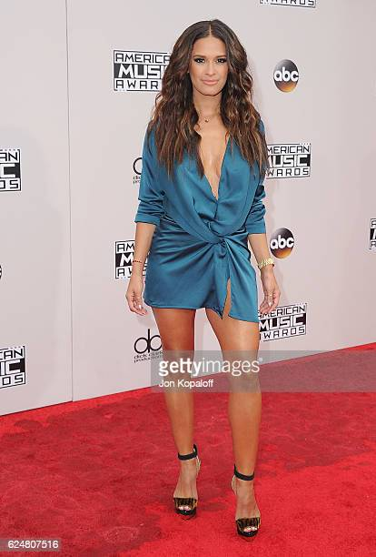 Rocsi Diaz arrives at the 2016 American Music Awards at Microsoft Theater on November 20, 2016 in Los Angeles, California.
