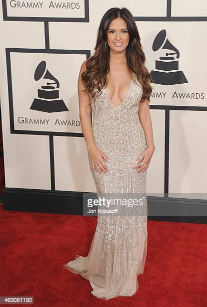 Rocsi Diaz arrives at the 57th GRAMMY Awards at Staples Center on February 8 2015 in Los Angeles California