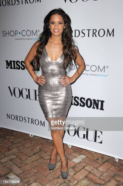 Rocsi Diaz attends Evenings in Vogue with Angela Missoni and Vittorio Missoni for exclusive summer 2012 preview presented by Nordstrom at Casa de...