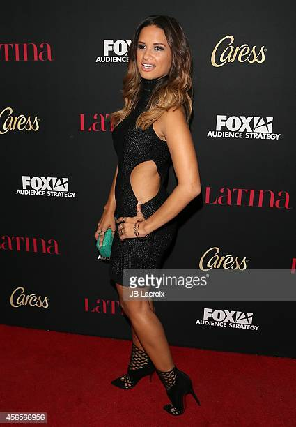 Rocsi Diaz attends LATINA Magazine's 'Hollywood Hot List' party at the Sunset Tower Hotel on October 2 2014 in West Hollywood California