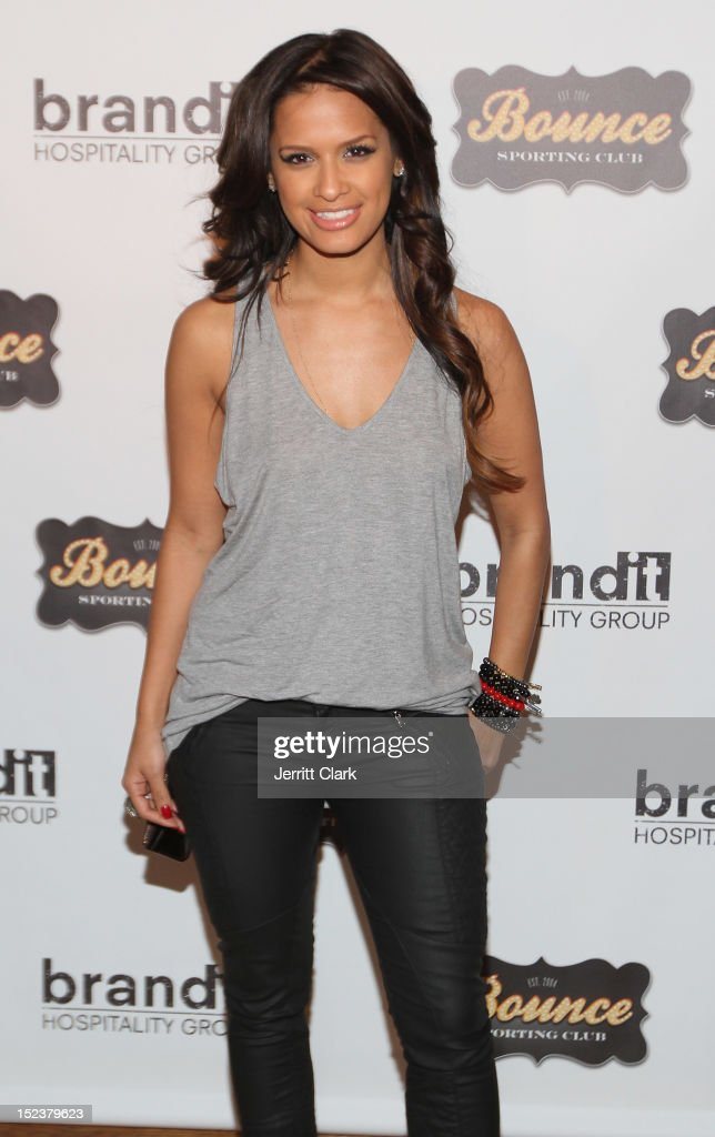 Rocsi Diaz attends the 1 year anniversary party at Bounce Sporting Club on September 19, 2012 in New York City.