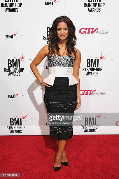 Rocsi Diaz attends the 2013 BMI RB/HipHop Awards at Hammerstein Ballroom on August 22 2013 in New York City